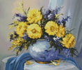 Golden Arrangement - Cross Stitch Chart