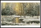 Golden Winter Lake - Cross Stitch Chart