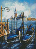 Gondolas in Venice - Cross Stitch Chart