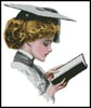Graduation Blonde - Cross Stitch Chart