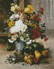 Grand Bouquet of Flowers - Cross Stitch Chart