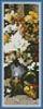 Grand Bouquet of Flowers Bookmark - Cross Stitch Chart