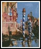 Grand Canale Venice - Cross Stitch Chart