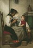Grandmother and Young Girl - Cross Stitch Chart
