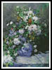 Great Vase of Flowers - Cross Stitch Chart