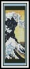 Great Wave Bookmark - Cross Stitch Chart