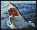 Great White - Cross Stitch Chart
