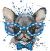 Groovy Pup 2 - Cross Stitch Chart