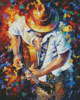 Guitar and Soul 2 (Large) - Cross Stitch Chart