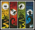 Halloween Banners - Cross Stitch Chart