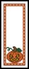 Halloween Bookmark 1 - Cross Stitch Chart