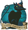 Halloween Cat - Cross Stitch Chart