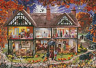 Halloween House Painting - Cross Stitch Chart