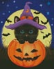 Halloween Kitty - Cross Stitch Chart