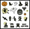 Halloween Motifs - Cross Stitch Chart