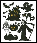 Halloween Motifs 2 - Cross Stitch Chart