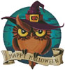Halloween Owl - Cross Stitch Chart