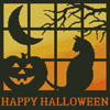 Halloween Square 3 - Cross Stitch Chart