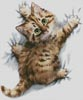 Hang On - Cross Stitch Chart