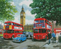 Happy Days London - Cross Stitch Chart