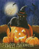 Happy Halloween Kitty - Cross Stitch Chart