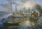 Harbor Town - Cross Stitch Chart
