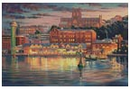 Harbour Lights - Cross Stitch Chart