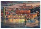 Harbour Lights (Large) - Cross Stitch Chart