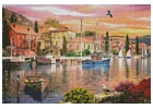 Harbour Sunset - Cross Stitch Chart