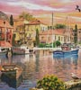 Harbour Sunset (Crop 2) - Cross Stitch Chart