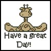 Have a great Day! - Cross Stitch Chart