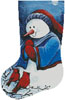 Hello Winter Friends Stocking (Left) - Cross Stitch Chart