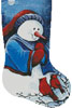 Hello Winter Friends Stocking (Right) - Cross Stitch Chart