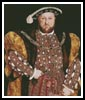 Henry the VIII - Cross Stitch Chart