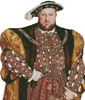 Henry the VIII (No Background) - Cross Stitch Chart