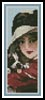 He won't bite you Bookmark - Cross Stitch Chart