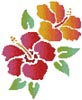 Hibiscus - Cross Stitch Chart