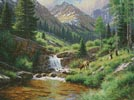 High Country Hideout - Cross Stitch Chart