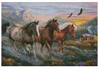 High Country Run - Cross Stitch Chart