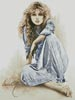 Hippy Girl - Cross Stitch Chart