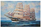 HMS Macquarie - Cross Stitch Chart