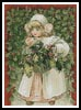 Holly Girl - Cross Stitch Chart