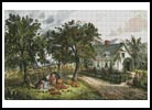 American Homestead (Autumn) - Cross Stitch Chart