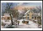 American Homestead in Winter - Cross Stitch Chart