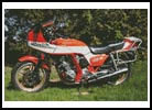 Honda CB900 F2 Bol d'or - Cross Stitch Chart