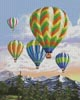 Hot Air Balloons 2 - Cross Stitch Chart