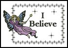 I believe - Cross Stitch Chart