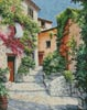 In the Alpes-Maritimes Provence - Cross Stitch Chart