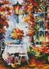 In the Garden Painting (Crop) - Cross Stitch Chart