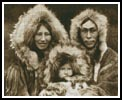 Inuit Family - Cross Stitch Chart